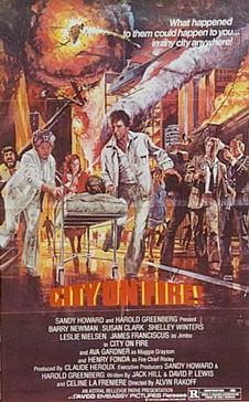 city on fire movie poster