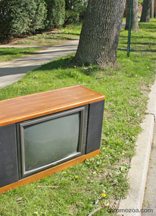 TV on the street