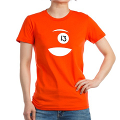 Chromozoa Icon Womens Fitted Tee, 2013 Design